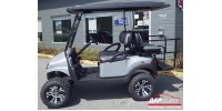 Club-Car Precedent avec body Phantom silver (argent) 4 places